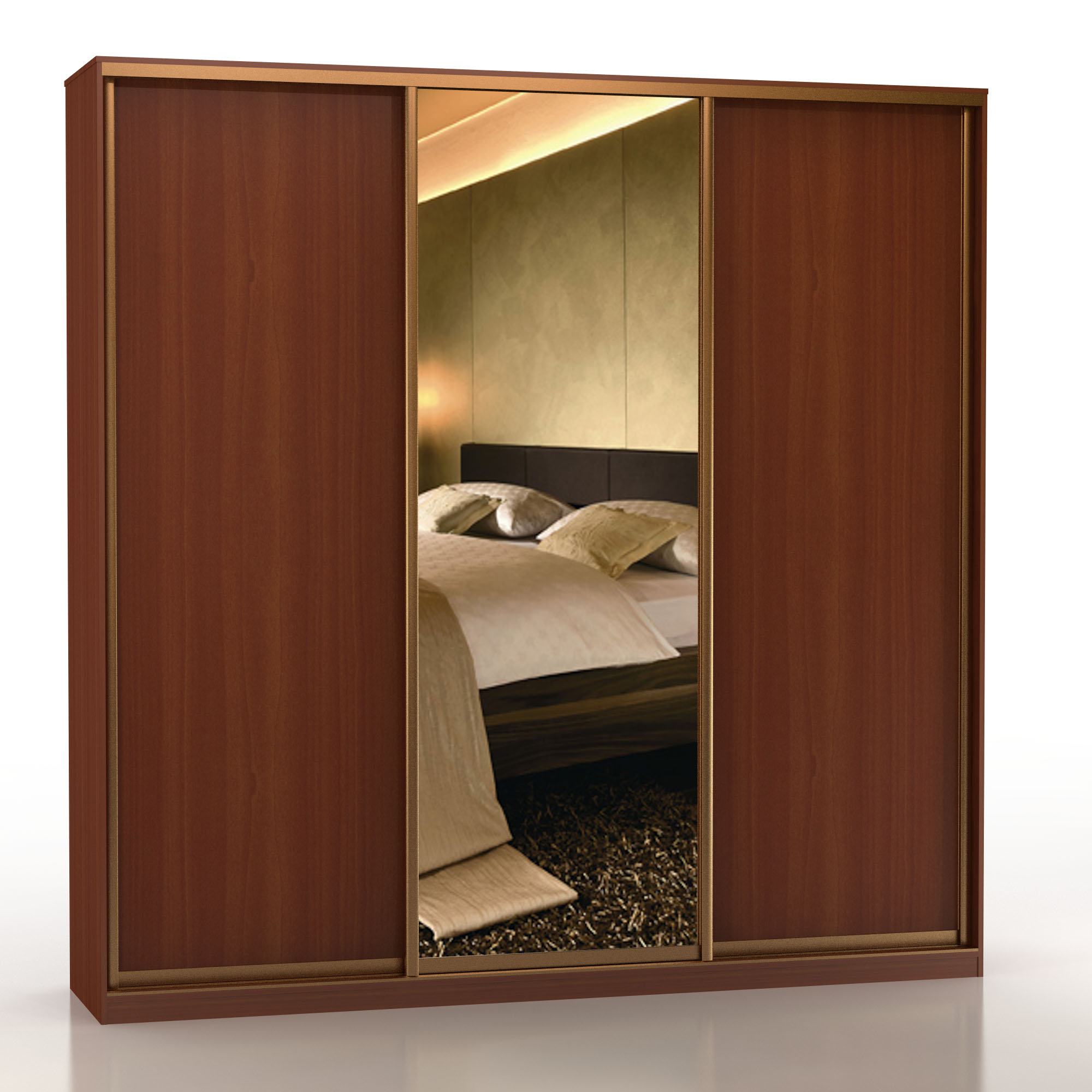 Купить шкаф-купе шк-3 без зеркал - 832921490.