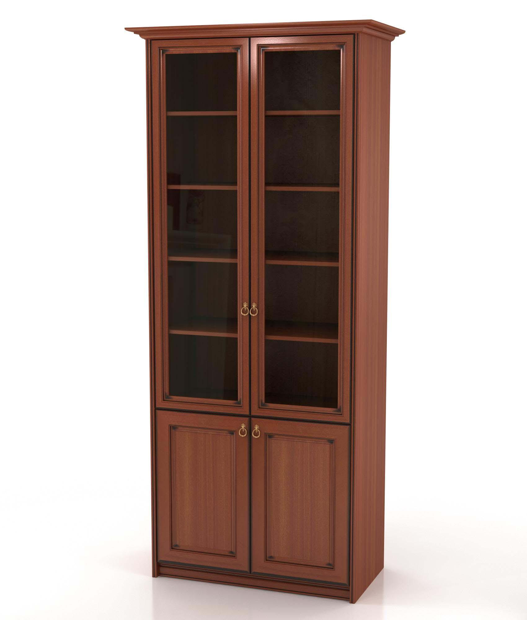 Шкаф-книжный 902 венеция мебель для гостиной шкафы.