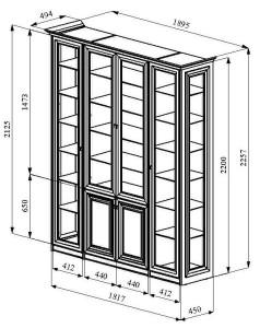 шкаф-витрина-в_столовую_шкаф-в-кухню