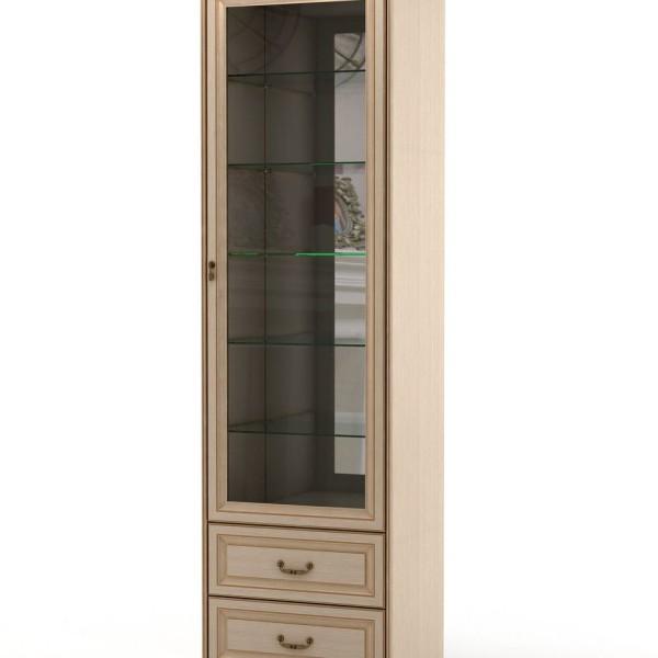 шкаф-витрина-в-столовую1-дуб
