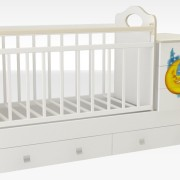 Кроватка_трансформер_маруся_кровать_для_новорожденных_недорого