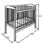 размеры_кроватки_для_новорожденных
